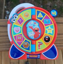 See N Say Elmo Numbers Shapes Interactive Music Mattel 2005 TESTED WORKS