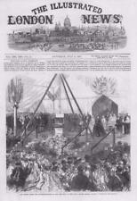 1867 Antique Print SURREY BAGSHOT ROYAL ALBERT ORPHAN ASYLUM QUEEN VICTORIA  (92