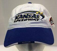 Sports Mem, Cards & Fan Shop Latest Collection Of Kansas Speedway Baseball Cap Flag Adjustable Hook Loop Gray Embroidered
