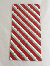 12 Hallmark Inspirations Gift Sacks - Holiday Striped Print NEW