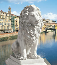 Florence Lion of Palazzo Vecchio Garden Sculpture Statue reproduction replica