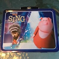 SING Illumintion Metal Tin Lunchbox Universal Pictures Kids Movie