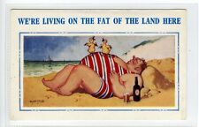 (Sd989-100) Artist Signed, Living off The Fat of The Land, Unused G-VG McGill