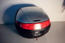 Topcase Koffer Shad 28L ohne Anbauteile silber schwarz Case AO33