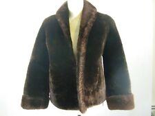 Vintage Mouton Lamb Fur Coat Short Crop Rikes Kumler Dayton Ohio