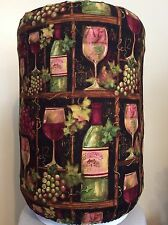 WINE SHELF BOTTLE GLASS 5 GALLON WATER COOLER BOTTLE COVER KITCHEN DECORATION