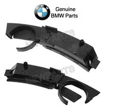 New E85 Z4 03-08 Pair Set of Left & Right Black Cup Holders in Dashboard Genuine