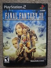 Final Fantasy XII - PlayStation 2 PS2 - NTSC-U/C - US Version
