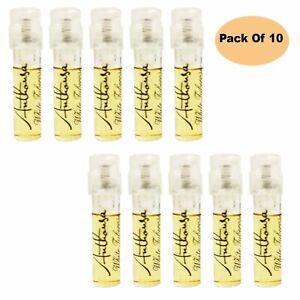 Anthousa Eau De Parfum White Tuberose 0.05 Fl Oz (Pack Of 10)