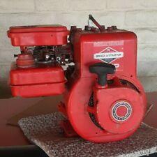 Vintage 1981 Briggs & Stratton B&S 2hp Gas engine original 60102 Horizontal Runs