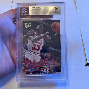 1996-97 Fleer Ultra #16 Michael Jordan Beckett 9 Mint