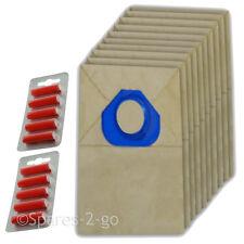 Paper Dust Bags for Nilfisk Vacuum Hoover G90 G90A-Vac GM80 GM90 x 10 + Fresh