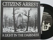 "Hardcore Punk 7"" / Citizens Arrest ""A Light In The Darkness"" Wardance"
