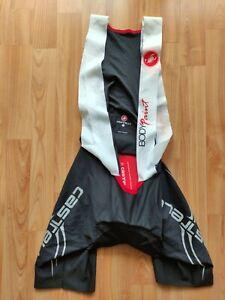 Castelli Body Paint Men's Cycling  Bib Shorts Progetto X2 Pad  Size:L NEW!