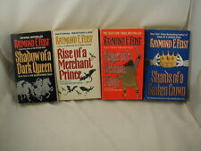 Raymond E Feist Riftwar Serpentwar Saga 4 Books Shadow of Dark Queen - Shards