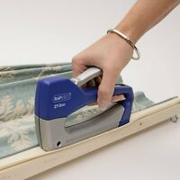 Rapesco Z T-Duo Staple Gun Tacker with 300 Staples, Uses Staples 13 and 53/4-8mm