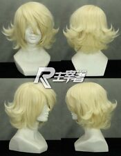 TIGER & BUNNY Ivan Ka Barnaby Brooks Jr. Ernie Blonde Anime Cosplay Wig Free CAP