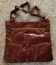 BRAND NEW - Beautiful Faux Leather Roomy Brown Bag Purse