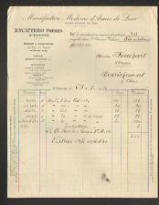 """SAINT-ETIENNE (42) USINE de ST-BONNET / ARMES de LUXE """"ZAVATERRO Freres"""" en 1912"""