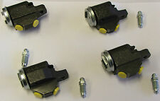MORRIS MINOR 948cc & 1098cc CARS SET OF 4 FRONT BRAKE WHEEL CYLINDERS