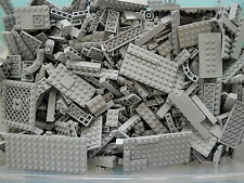 LEGO Lite Blue Gray 1/4 lb Bulk Lot of Bricks Plates Specialty Parts Pieces