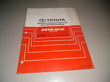Workshop Manual Body Kollisionsschäden Toyota Hilux Stand 08/1997