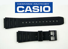 CASIO WATCH BAND BLACK CA-53W W-720 W-520U CA-61W DB-57