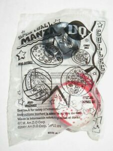 2001 DQ Dairy Queen Red White Comet Ball Sportball Mania Kid Meal Toy - Sealed
