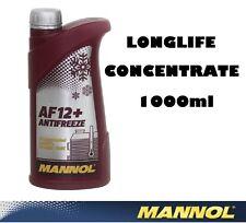 Mannol Alemania 1lt concentrar Anticongelante / Verano Refrigerante mezclas con todos Rojo