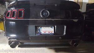 REAR SPLITTER 2013-2014 Mustangs V6 & GT w/o Boss/CS rear diffuser