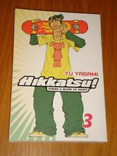 HIKKATSU! STRIKE A BLOW TO VIVIFY VOL 3 GO COMI MANGA YU YAGAMI GRAPHIC NOVEL