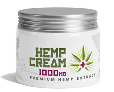 HempLab Premium Hemp Cream – Anti-Aging Ointment Pain Relief cream 1000mg