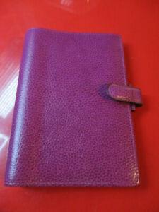 Filofax Finsbury Personal Organiser real leather (pink raspberry)