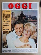 OGGI n°41 1962 Dario Fo Franca Rame Valeria Ciangottini  [G743]