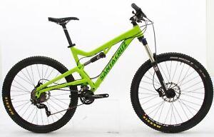 "USED 2015 Santa Cruz Heckler Large Full Suspension Mountain Bike 27.5"" Wheels"