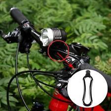 4pcs Anillo de Goma soporte linterna LED  lampara para bicicleta senderismo /cc