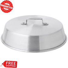 """15"""" Aluminum Commercial Restaurant Kitchen Round Dome Cooking Wok Cover Lid, Usa"""