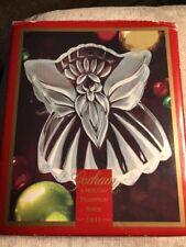 "8 1/2"" Crystal Candy -Multi Purpose Dish -Angel Shape"