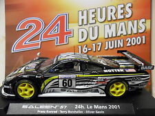 FLY A262 / 88044 SALEEN S7R #60 LE MANS 2001 1/32 SLOT CAR FOR SCALEXTRIC