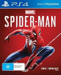Marvel SpiderMan PS4 Playstation 4 BRAND New Sealed In Stock FREE DELIVERY