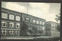 1956 Postmarked Postcard Carrollton Public Schools Carrollton Kentucky KY
