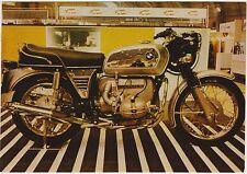 MOTO BMW P 60/S - CARTOLINA