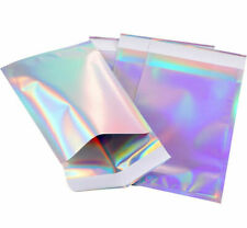 Holographic Metallic Poly Mailers Foil Glitter Bag Mailing Self Sealing Envelope