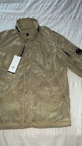 Mens Cp Company Chrome Jacket Khaki Size M (48) RRP £440