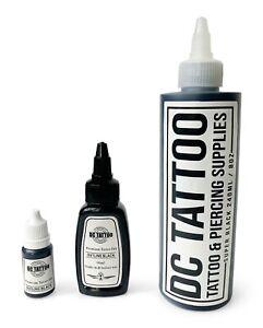 DCtattoo - STICK & HAND POKE - Black Tattoo Ink 10ml 30ml 240ml