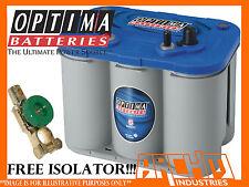 OPTIMA D34M BLUE TOP DEEP CYCLE BATTERY solar/panel/caravan/rv/motorhome/camper