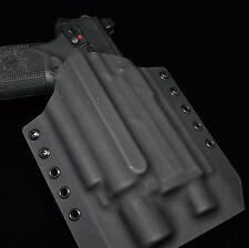 Light Bearing Kydex Gun Holster for FNX-45 Tactical - MOLLE or Belt mounted