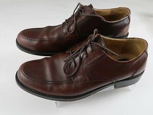 Dockers Men's 10M Apron Derby Dress Shoes - Brown Leather