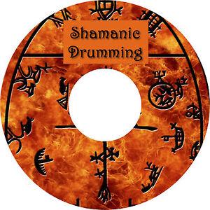 Shamanic Drumming CD Relaxation Stress Anxiety Relief Deep Sleep Healing Nature
