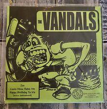 "The Vandals & Assorted Jelly Beans 7"" Promo-Wax VINYL Record.( Joe, Costa Mesa )"